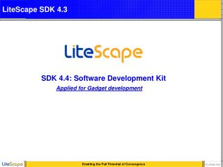 SDK 4.4: Software Development Kit
