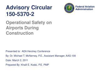 Advisory Circular 150-5370-2