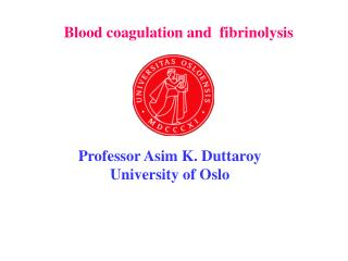 Blood coagulation and  fibrinolysis