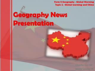 Geography News Presentation