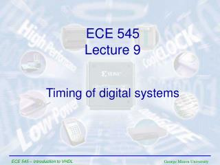 Timing of digital systems