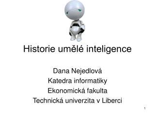 Historie umělé inteligence