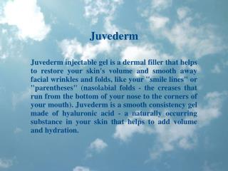 Dr Kris Reddy Reviews Juvederm Dermal Filler