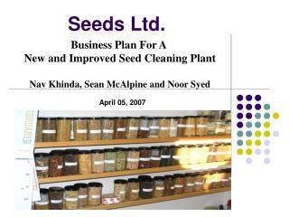Seeds Ltd.