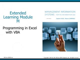 Extended Learning Module M