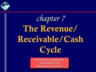 The Revenue/ Receivable/Cash Cycle
