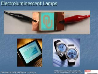Electroluminescent Lamps