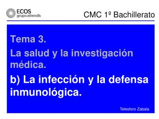 CMC 1� Bachillerato