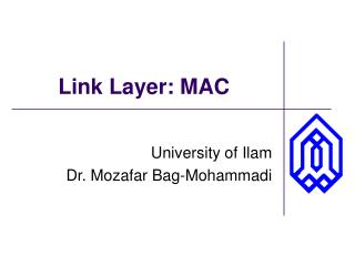 Link Layer: MAC