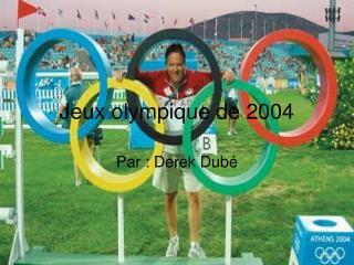 Jeux olympique de 2004