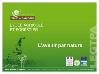 LYCÉE AGRICOLE ET FORESTIER