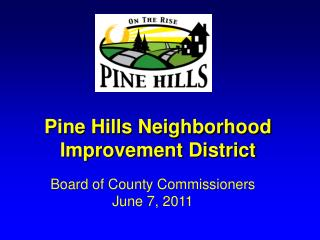 Pine Hills Neighborhood Improvement District