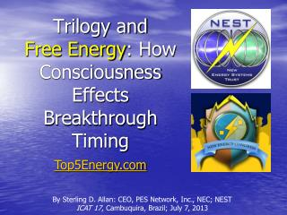 Trilogy and Free Energy : How Consciousness Effects Breakthrough Timing