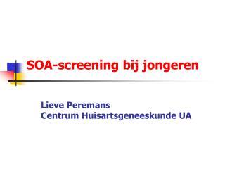SOA-screening bij jongeren