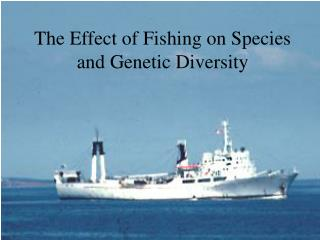 The Effect of Fishing on Species and Genetic Diversity