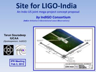 Site for LIGO-India