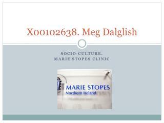 X00102638. Meg  Dalglish