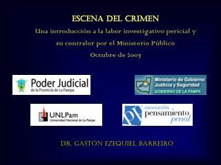 Dr. Gastón Ezequiel Barreiro