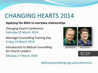 CHANGING HEARTS 2014