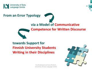 Assessing the situation: What factors shape our EAP courses in written communication?