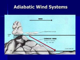 Adiabatic Wind Systems