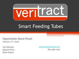 Smart Feeding Tubes