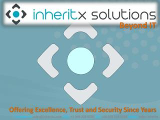 Offering Excellence, Trust and Security Since Years
