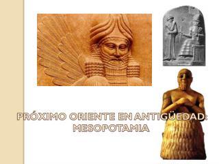 mesopotamia (1º eso)