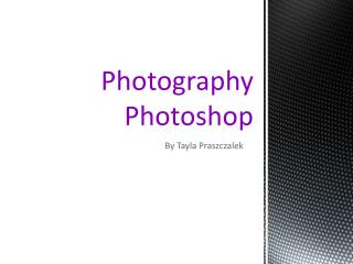 Photography Photoshop