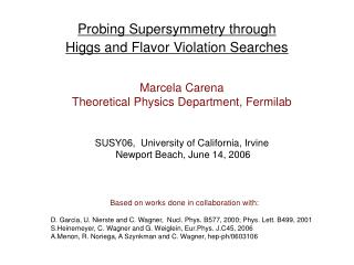 Probing Supersymmetry through Higgs and Flavor Violation Searches