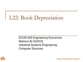 L22: Book Depreciation