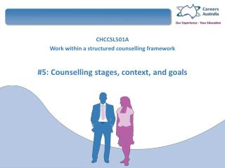 CHCCSL501A  Work within a structured  counselling  framework