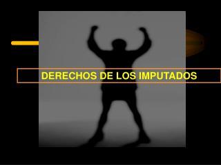 DERECHOS DE LOS IMPUTADOS