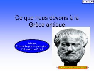 Ce que nous devons à la Grèce antique