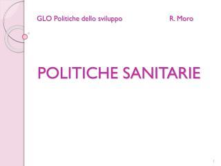 GLO Politiche dello sviluppoR. Moro