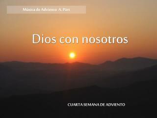 Dios con nosotros