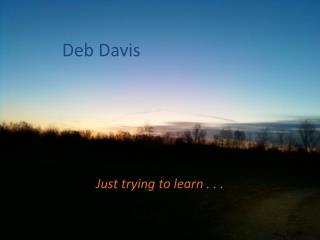 Deb Davis