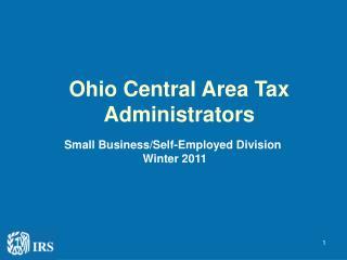 Ohio Central Area Tax Administrators