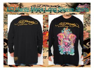 ED Hardy Mens Long Sleeve Shirts