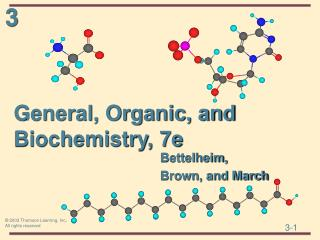 General, Organic, and Biochemistry, 7e