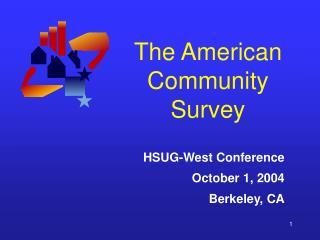 The American Community Survey