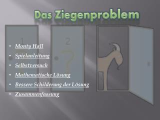 Das Ziegenproblem