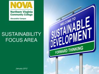 SUSTAINABILITY FOCUS AREA