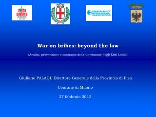 War on bribes: beyond the law