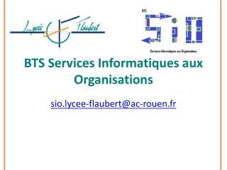 BTS Services Informatiques aux Organisations