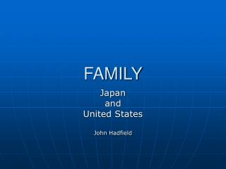 an overview of the communication roles in the family Overview healthcare delivery  module 1: family dynamics and health family dynamics significantly impact  family power dynamics and gender roles may have a.