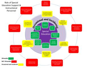 Role of Special Education Support & Instructional Personnel
