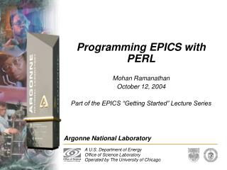 Programming EPICS with PERL