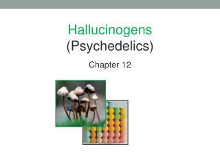 Hallucinogens (Psychedelics) Chapter 12