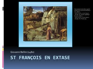 St François en extase